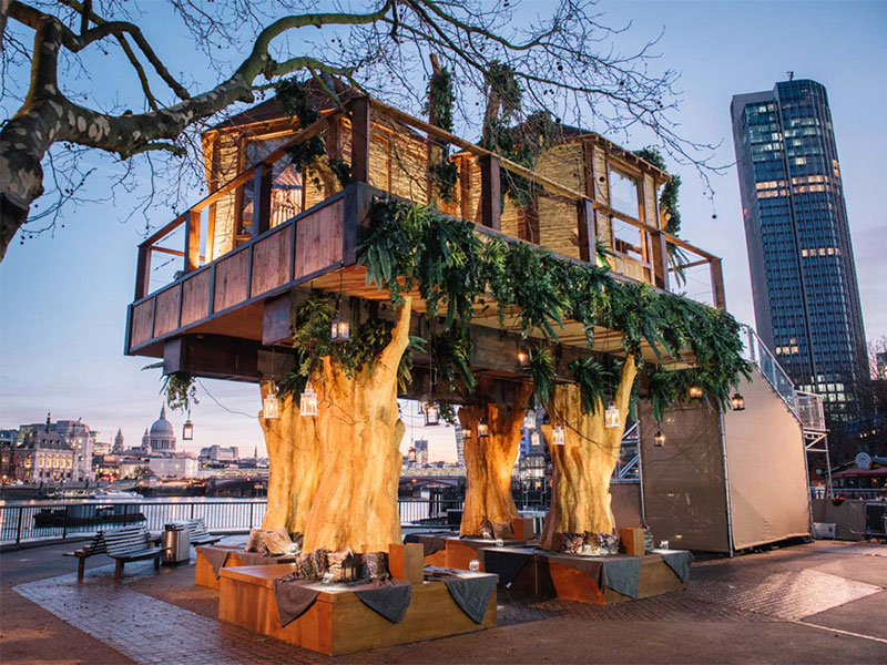 LUXURY TREEHOUSE HOTELS