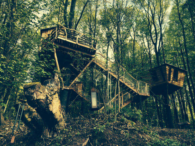 TREEHOUSES IN SOUTHERN GERMANY