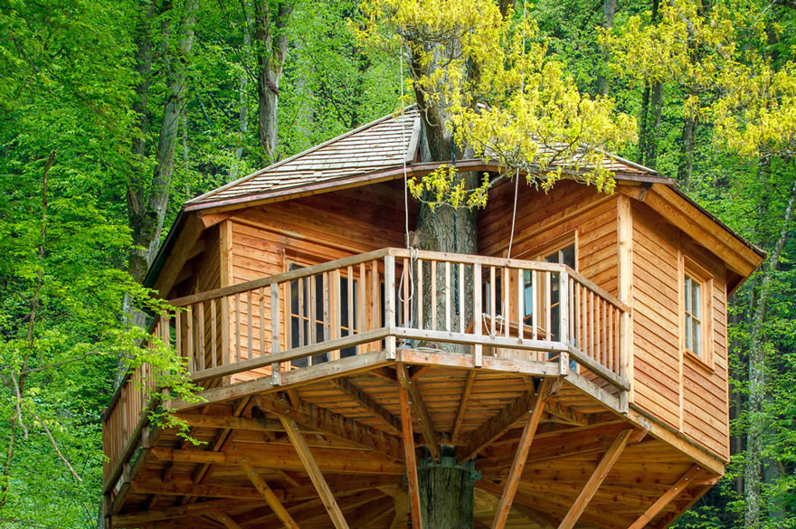 seemuehle treehouse hotel