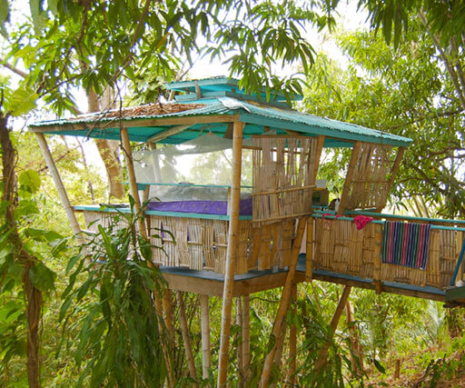 Tropical Treehouse Spectacular Views Of The Caribbean Sea